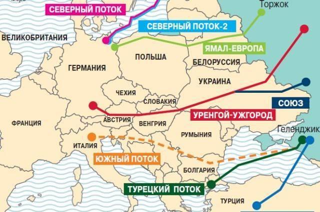 Где пройдёт новый газопровод?