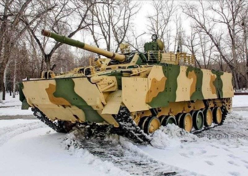 БМП-3 для Ирака получили дополнительную защиту