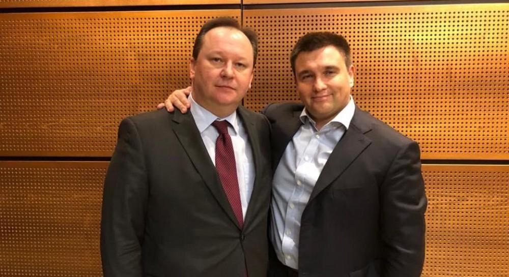 """""""Предан Украине"""": Климкин показал фото с братом претендента РФ в Интерполе и рассказал о его патриотизме"""