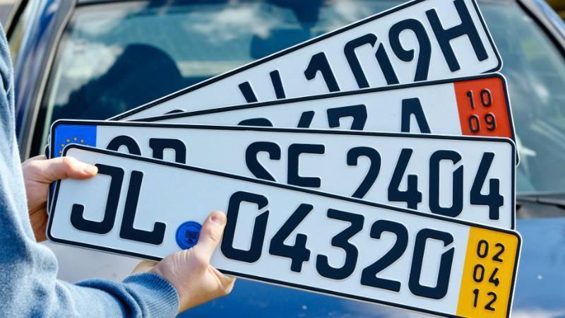 Чем отличаются номерные знаки для автомобилей?