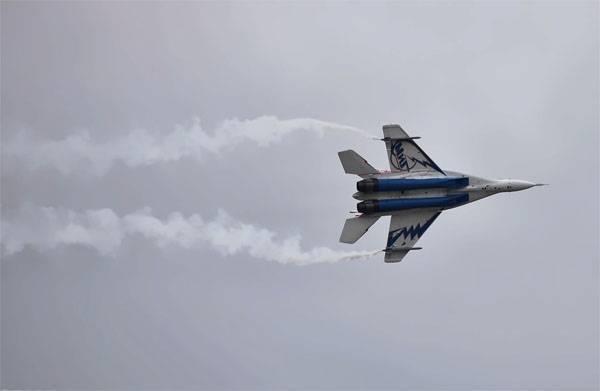 Истребитель МиГ-29М упал в Египте