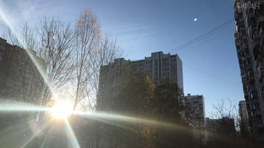 Атмосферное давление в Москве приблизится к рекорду 25-летней давности
