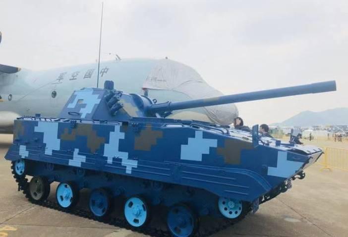 В Китае представили новую десантную САУ