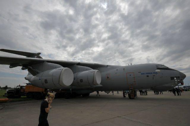 Серийный Ил-76МД-90А совершил первый полет 7 ноября