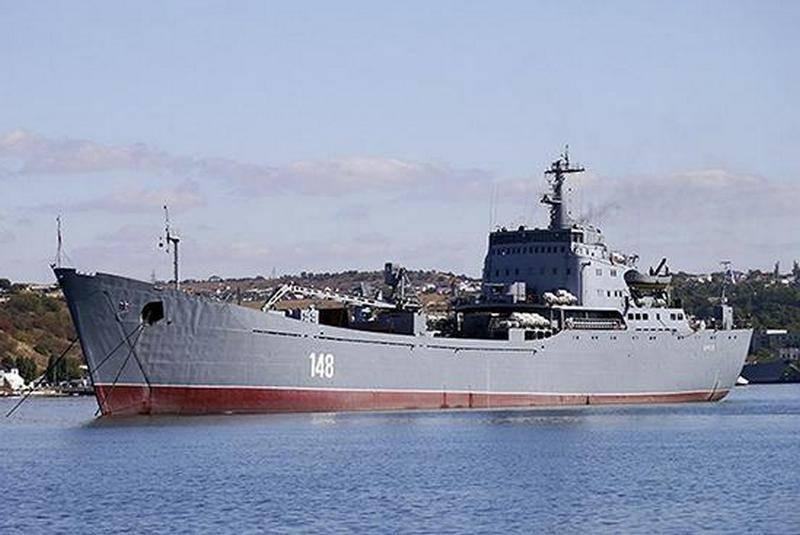 """БДК """"Орск"""" прошёл Босфор и вошёл в Средиземное море"""