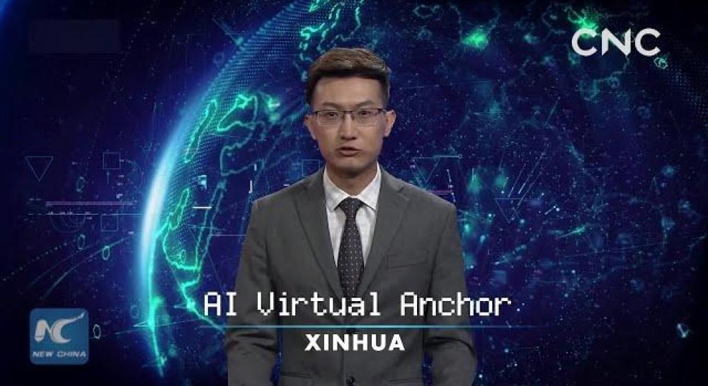 Может работать круглосуточно: в Китае показали виртуального ведущего новостей