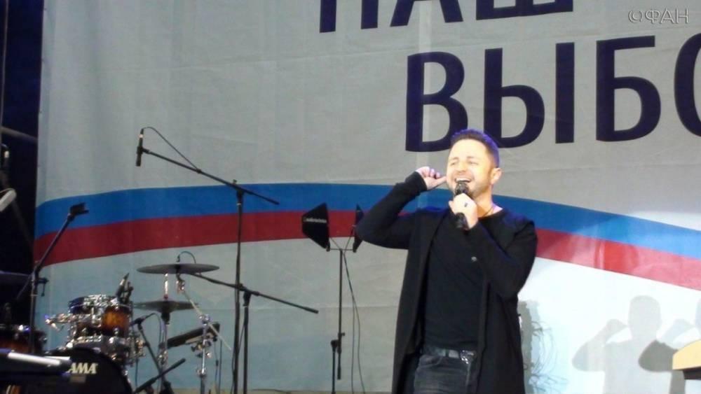 Концерт с участием звезд российской эстрады собрал в Луганске более 5 тыс. человек