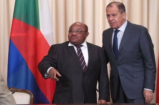 Лавров заявил о намерении РФ и Коморских Островов развивать сотрудничество