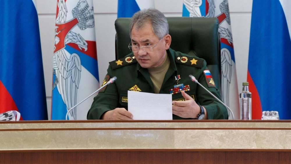 Шойгу заявил об открытии катков, бассейнов и спортзалов во всех учебных заведениях Минобороны РФ к 2022 году