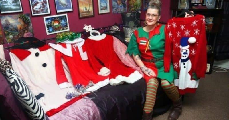 Morrisons запретил своей сотруднице носить самодельные рождественские костюмы в рабочее время
