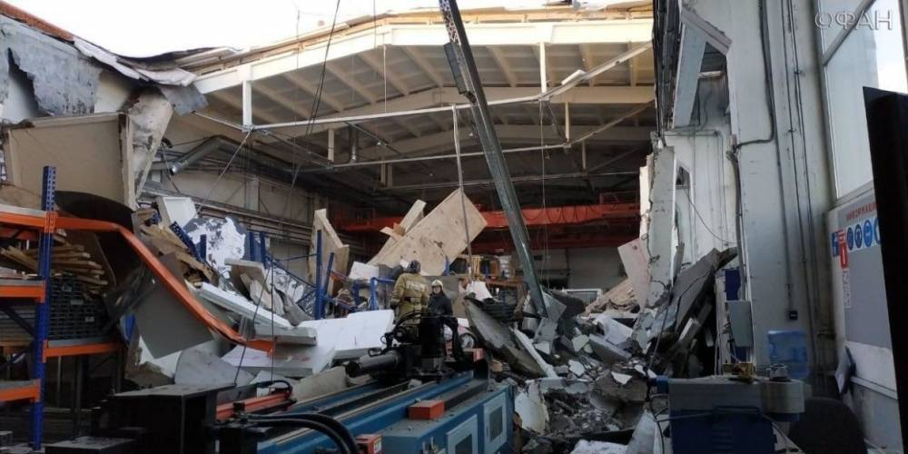 Названа предварительная причина обрушения крыши в Дзержинском