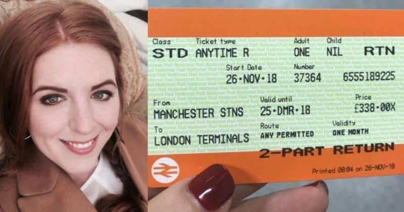 Билет на поезд из Манчестера в Лондон обходится дороже, чем рейсы в Нью-Йорк