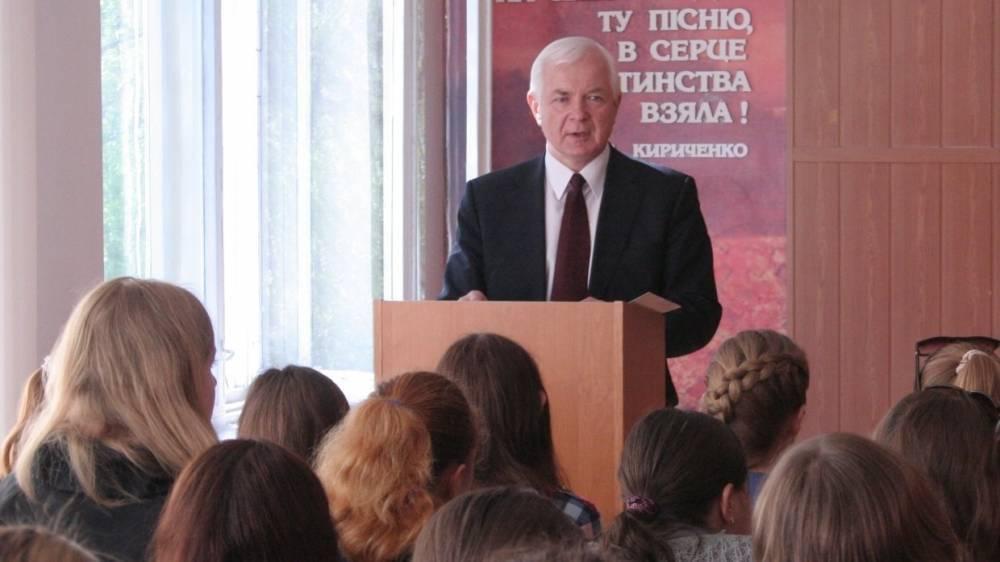 Кандидат в президенты Маломуж:Я знаю, как установить мир на Украине
