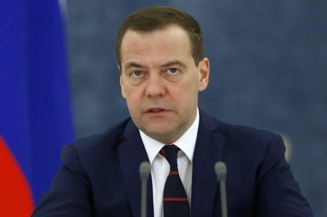Медведев расширил список контрсакций в отношении Украины