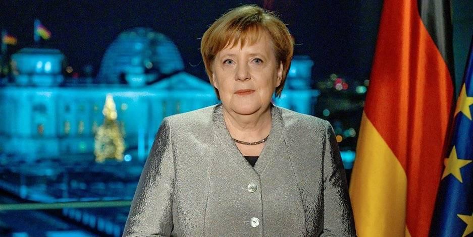 Новогоднее обращение Меркель: «Мы должны держаться вместе, несмотря ни на что»