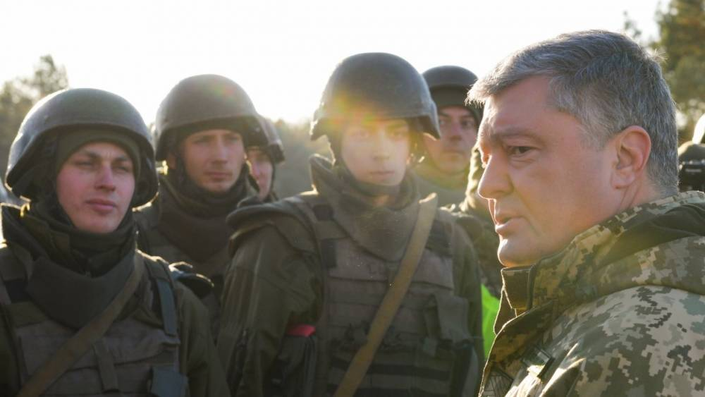 Украинский журналист рассказал о роли Запада во введении военного положения
