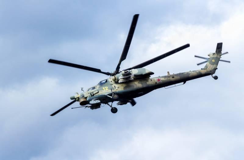 Российские вертолёты адаптирую под применение фугасных бомб