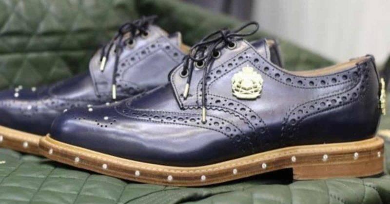 Ювелир из Бирмингема создал роскошную пару обуви за £10 тысяч
