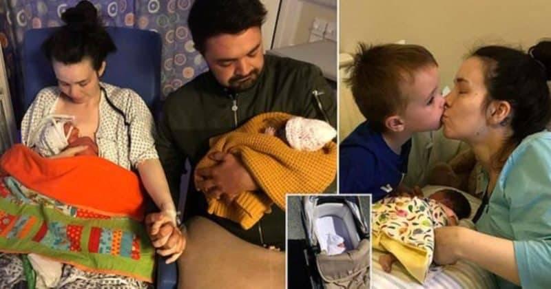 Британка на протяжении двух недель ухаживала и гуляла со своей мертворожденной дочерью