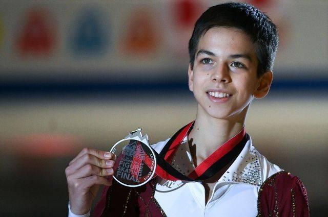 Фигурист Гуменник завоевал серебро в финале юниорского Гран-при в Канаде