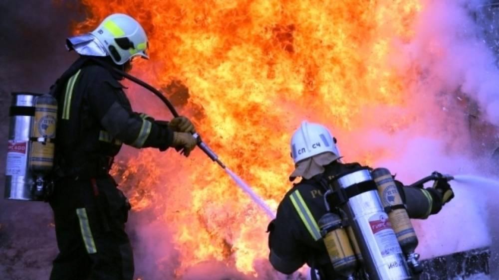 Более 160 человек эвакуировали из горящего научного центра в Петербурге