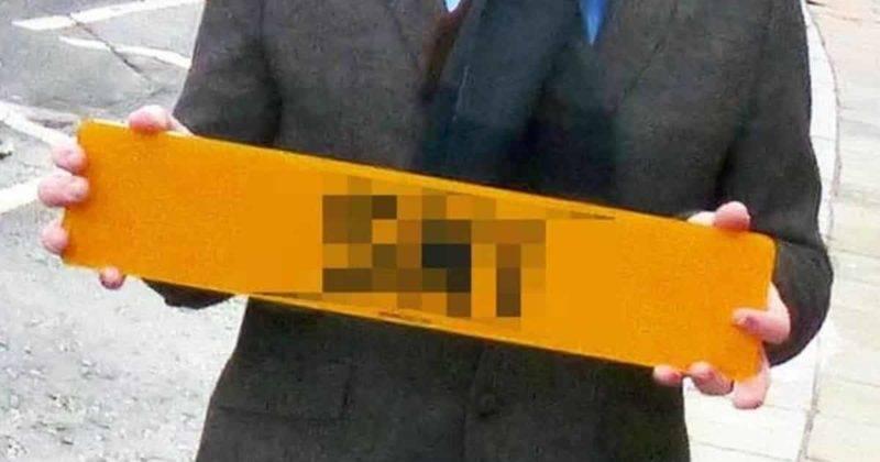 Эти номерные знаки были проданы за £300 тысяч, и вот почему