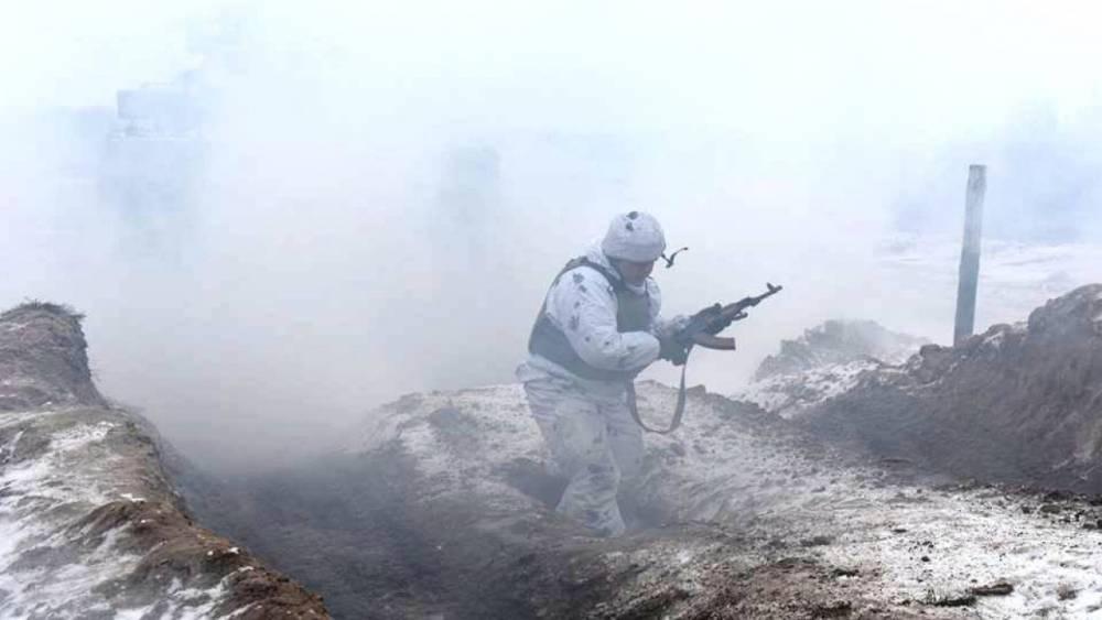 Военные ЛНР автоматным огнем остановили прорыв группы диверсантов ВСУ