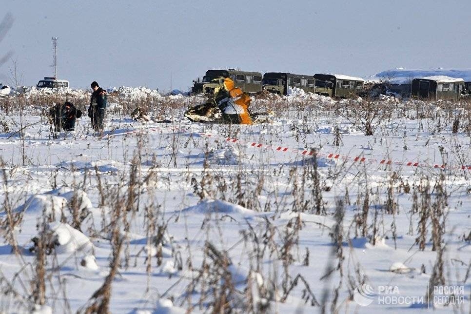 Пилоты рухнувшего Ан-148 перед катастрофой ругались