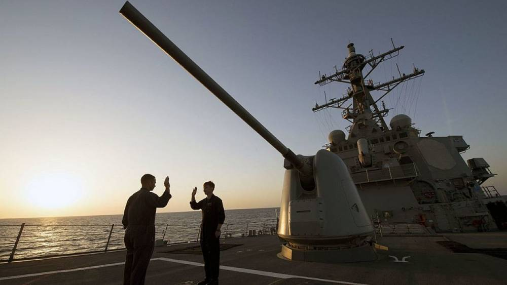 В Черное море зашел второй ракетный эсминец США