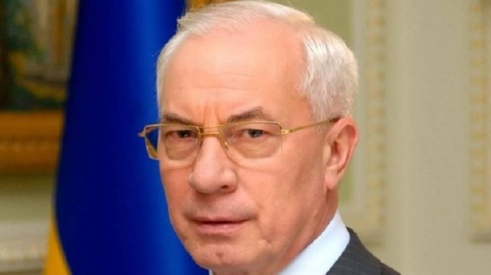 Азаров показал, как евроинтеграция повлияла на стоимость продуктов на Украине