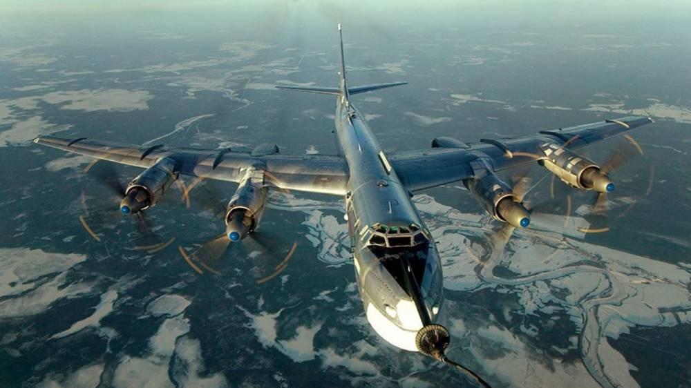Самолеты ВКС РФ провели патрулирование в сопровождении ВВС Японии