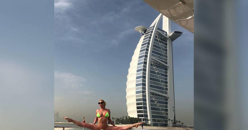 Шпагат на яхте и частный самолёт. Волочкова похвасталась VIP-отдыхом в Дубае