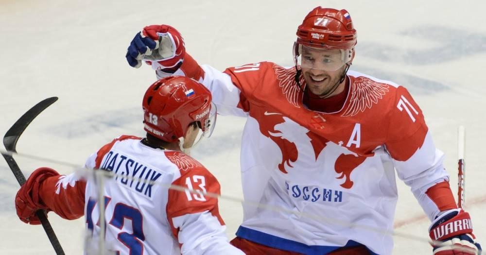 Дацюк и Ковальчук стали рекордсменами по числу матчей на ОИ в истории хоккея РФ