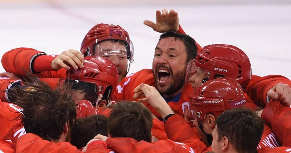 Российские хоккеисты после победы на ОИ спели песню Шнура — видео