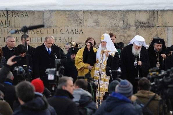 Скандал в Болгарии: это наш патриарх и наше дело!