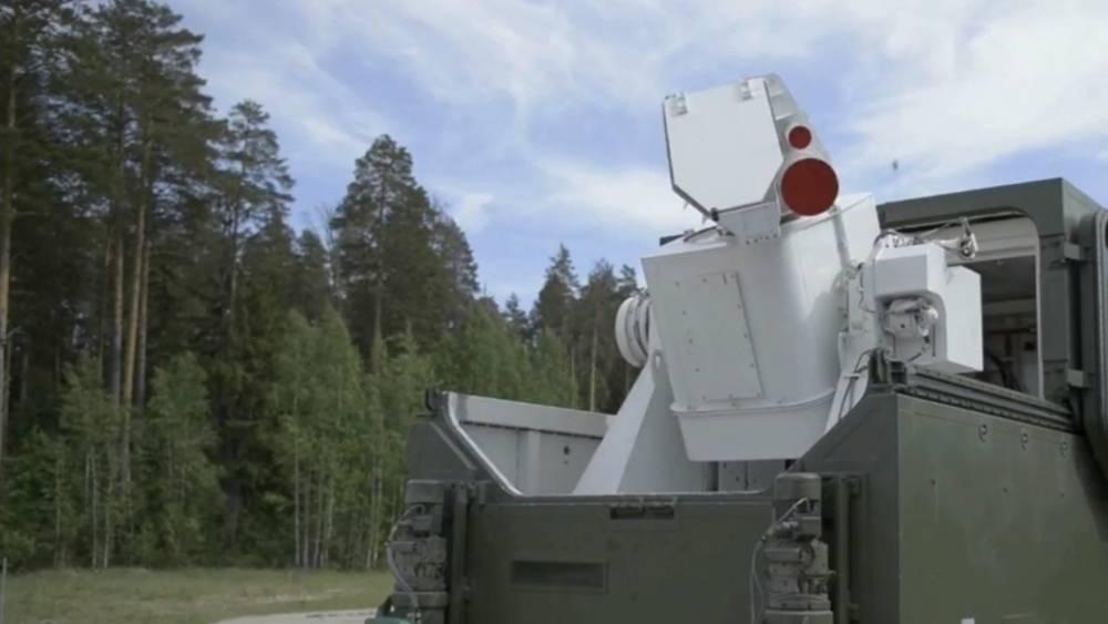 О способностях боевых лазеров ВС РФ рассказали в Минобороны