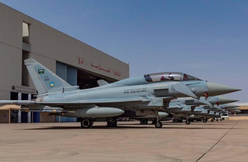 Саудовская Аравия приобретет еще 48 истребителей Eurofighter Typhoon