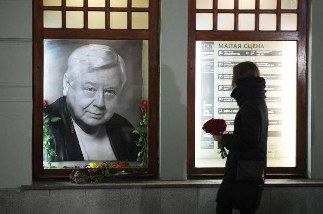 Прощание с Олегом Табаковым пройдет 15 марта