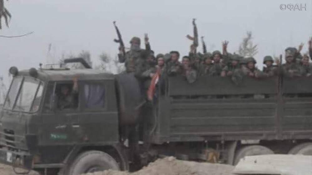 Сирия: САА приступила к штурму Джисрина в Восточной Гуте