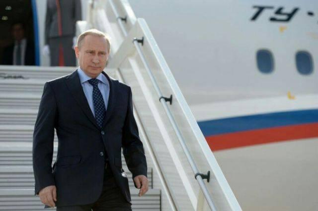 Путин прибыл в Дагестан с рабочим визитом