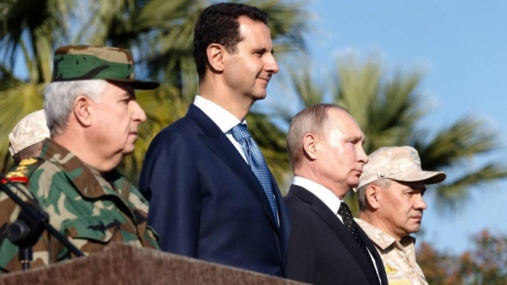 Асад побеждает в гражданской войне в Сирии – американский генерал