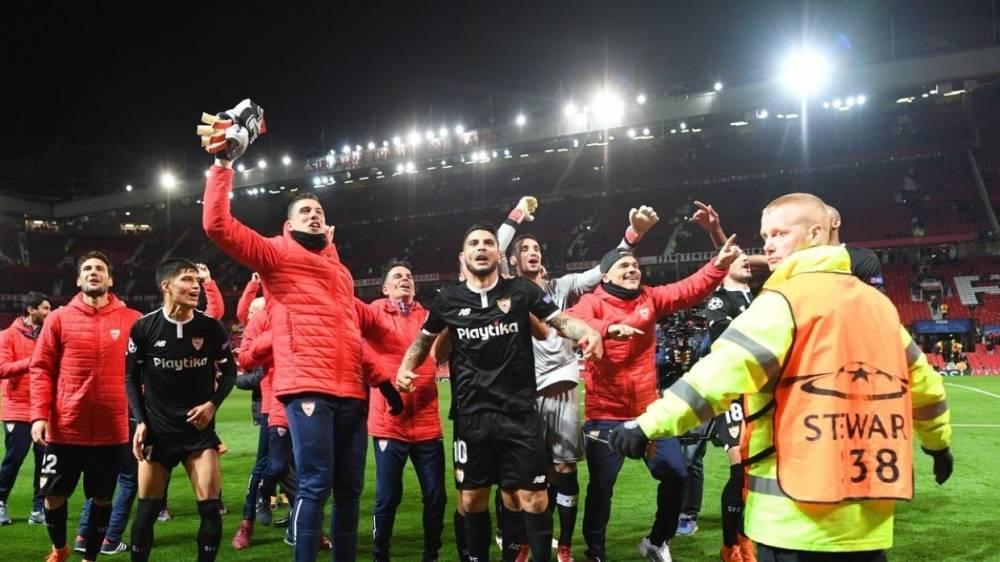 «Рома» и «Севилья» вышли в четвертьфинал Лиги чемпионов