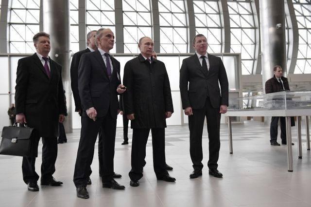 Путин оценил новый терминал аэропорта Симферополь