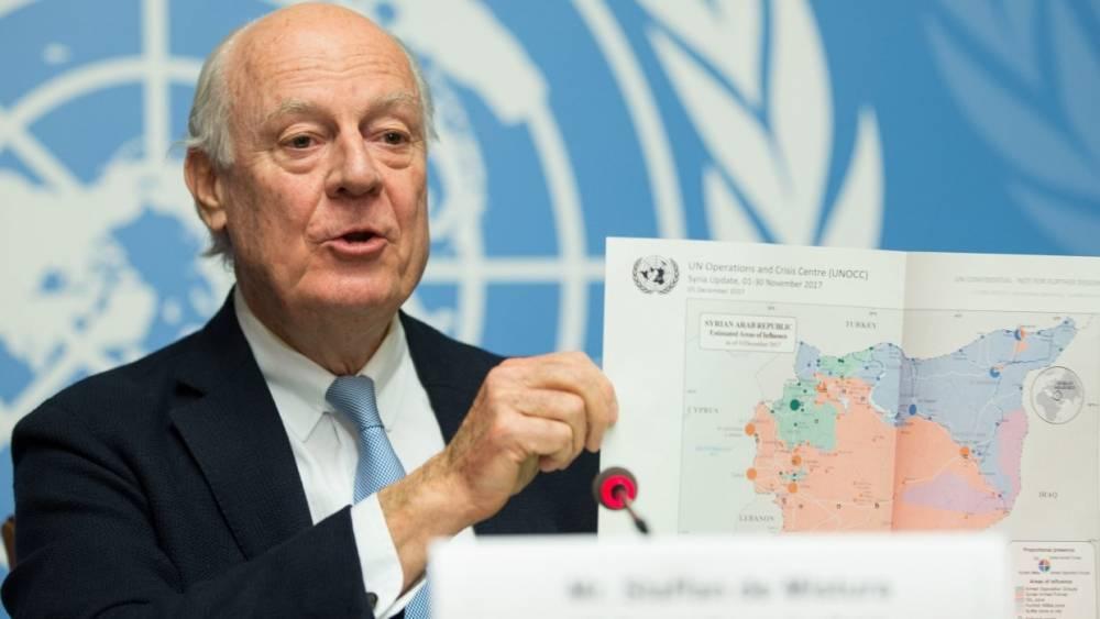 Брифинг Де Мистуры по Сирии в Совбезе ООН состоится в пятницу