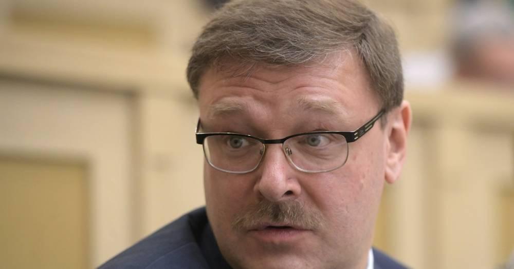 Косачёв связал запрет на голосование россиян в Киеве с деградацией Украины