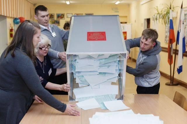 В России завершилось голосование на выборах президента страны