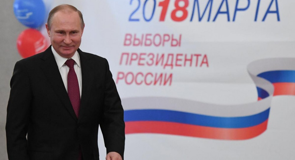 Путин набирает на выборах президента России более 70% голосов - экзит-поллы
