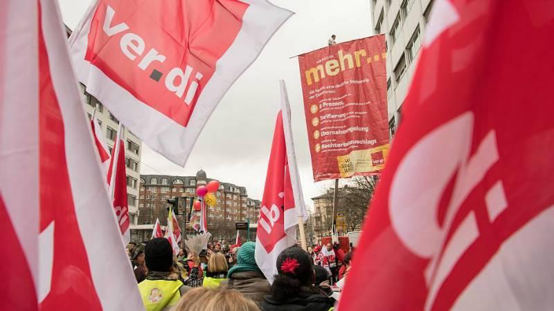 Забастовка в Северный Рейн-Вестфалии: завтра ожидается коллапс инфраструктуры