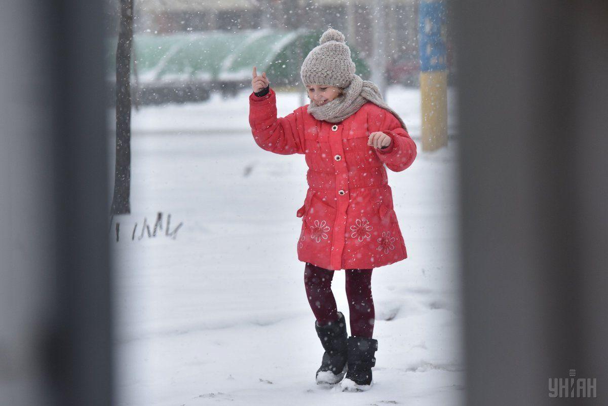 В Украину сегодня вернутся снегопады, во всех регионах будет холодно