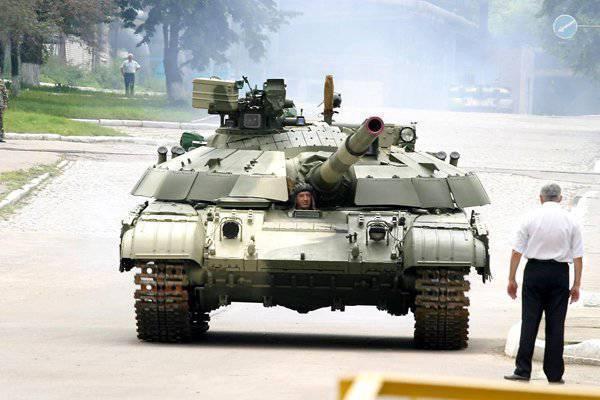 "Украинский контрактник ""обокрал"" танки"